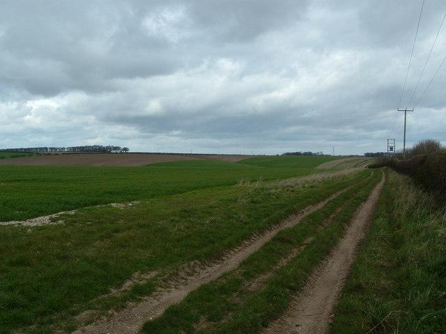 View across Ganton Dale from Barrow Farm