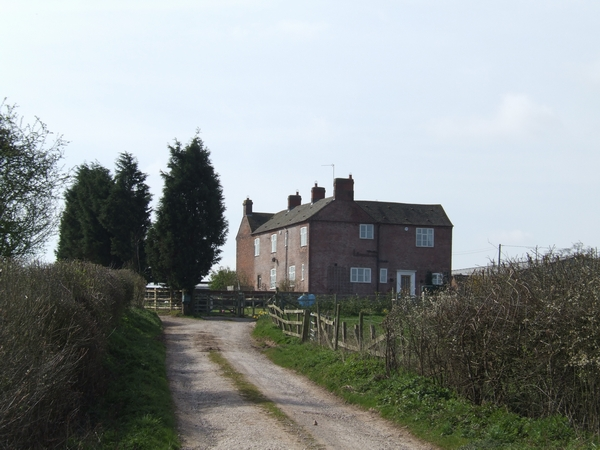 Large farmhouse