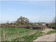 SJ8615 : Eaton Brook Farm by John M