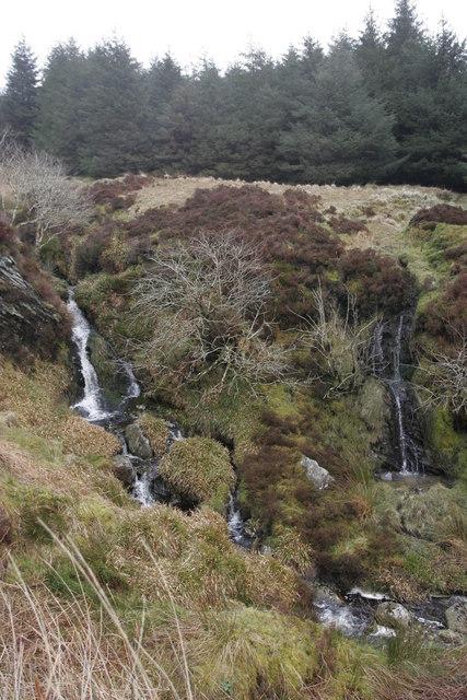 Hill streams above Glen Fyne, Cowal