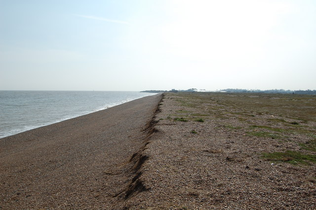 Beach near Shingle Street