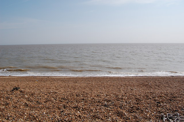 Beach near Bawdsey