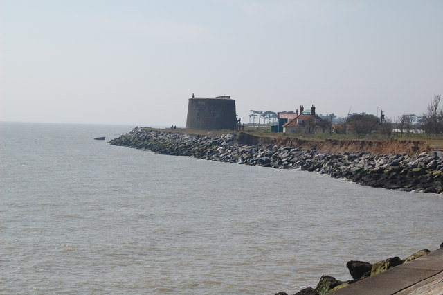 Martello Tower, East Lane, Bawdsey