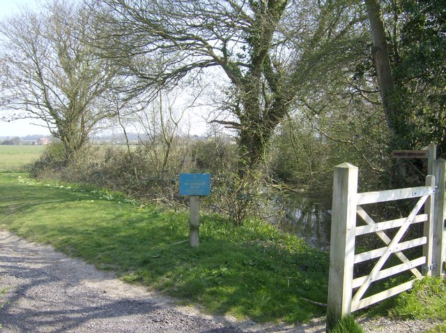 Southern entrance to Hales Green Common