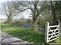 TM3795 : Southern entrance to Hales Green Common by Graham Horn