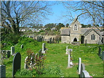 SW9375 : St Michael's, Porthilly by William Bartlett