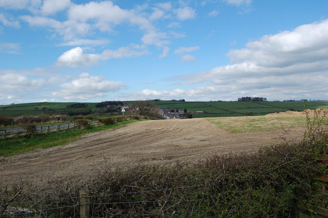 Field Rowley Farm near Cornsay Colliery