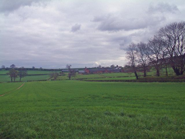 Current footpath & unused trackway
