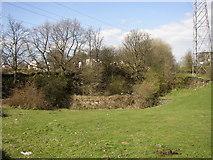SE1323 : Disused quarry, Brookfoot Lane, Southowram by Humphrey Bolton