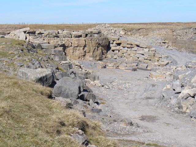 Crosby Ravensworth Fell Quarry