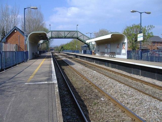 Railway station, Cwmbran