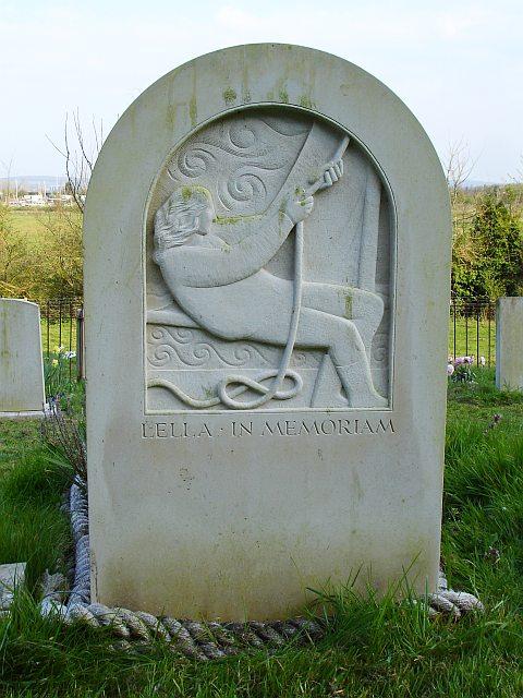 Gravestone of Helen Jenkins