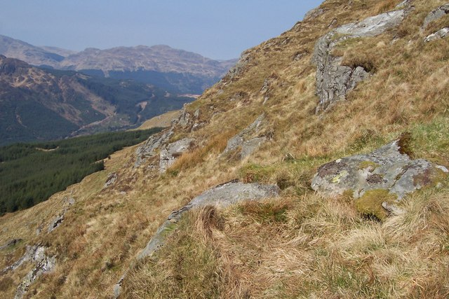 South-West Slopes of Cruach a'Chaise