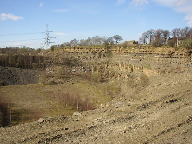 The quarry to the west of Footpath 46, Cromwell Quarries, Southowram