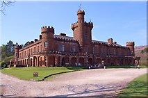 NM4099 : Kinloch Castle by John Allan