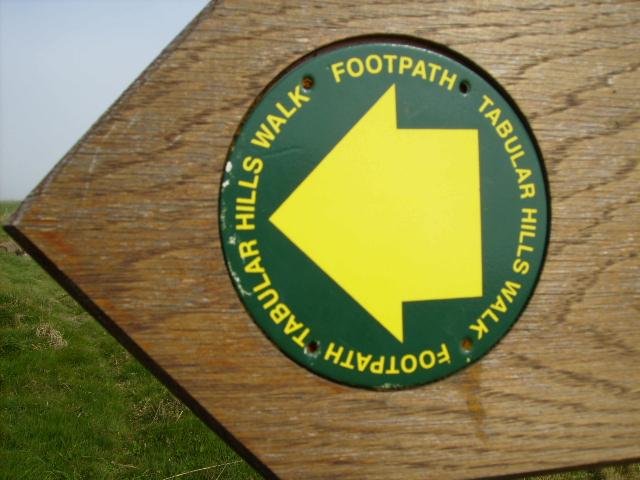 Start of the Tabular Hills Walk