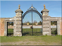 NO3848 : Gate to Walled Garden at Glamis Castle by Darrin Antrobus