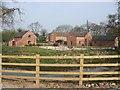 SJ8619 : Booden Farm and  Moat by John M