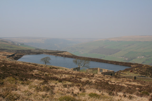 Reservoirs, Midgley Moor