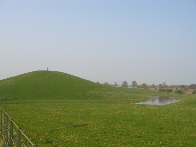 Man made hill.