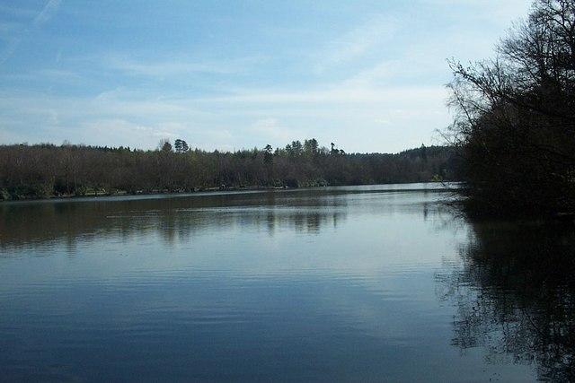 Tilgate Lake, Tilgate Park, Crawley