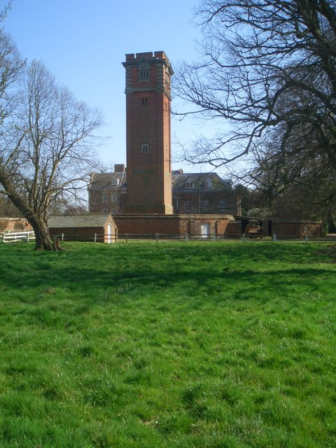 Water tower, Raynham Hall