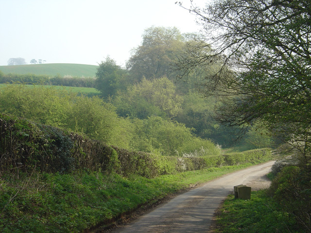 Countryside at Greaves, Draycott in the Clay