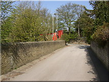 SE1223 : Top end of Brier Lane, off Brookfoot Lane, Southowram by Humphrey Bolton