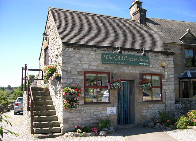 The Old Cheese Shop at Hartington, Derbyshire