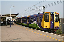 TQ2182 : Class 313 train at Willesden High Level station by Dr Neil Clifton