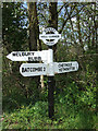 ST6006 : Hell Corner Signpost by Mike Searle