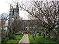 NU1034 : St Mary's Church, Belford by Lisa Jarvis