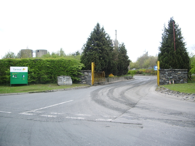Entrance to Bankfield Quarry
