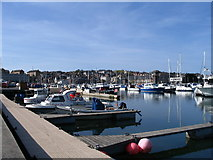 SY6778 : Weymouth Inner Harbour by E Gammie