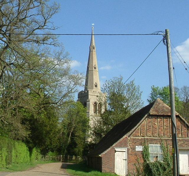 Colmworth church