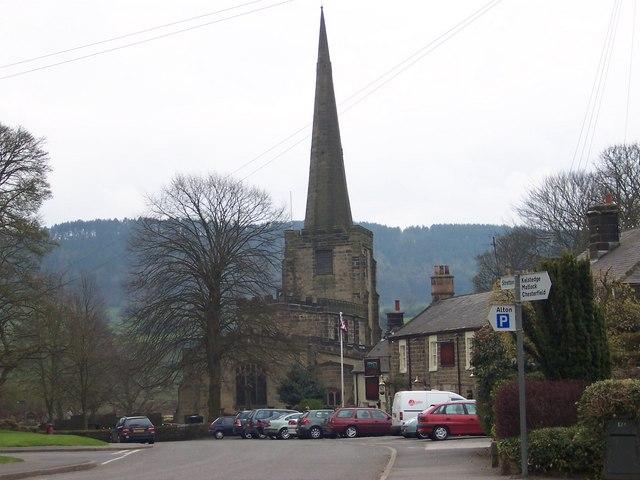Ashover Parish Church