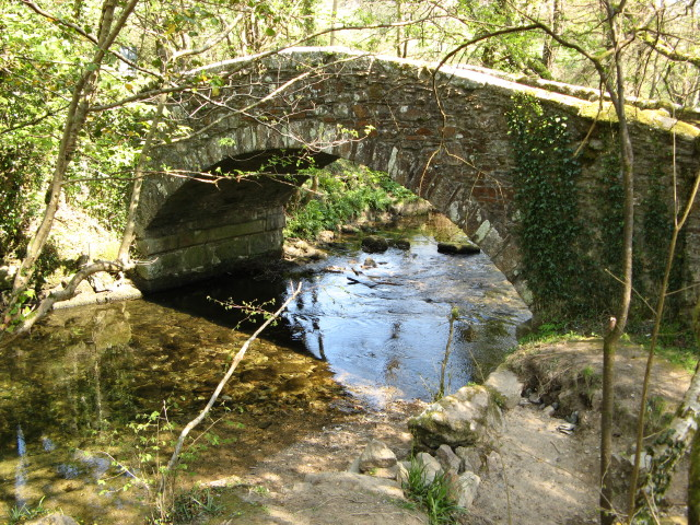 Goodameavy: Road Bridge over the River Meavy