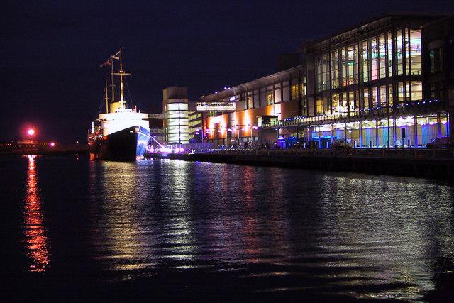 Royal Yacht Britannia, Ocean Terminal, Leith