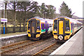 NG9442 : Strathcarron - the end of the line - temporarily by Roy Tait
