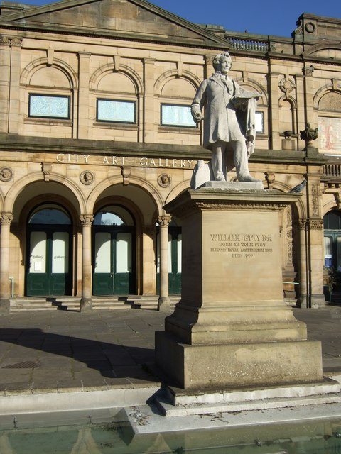 City Art Gallery and statue of William    © Stanley Howe