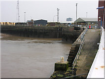 TA2711 : Royal Dock - entrance from the Humber by George Robinson