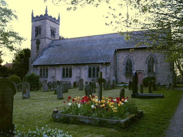 Sproatley Church at Dusk