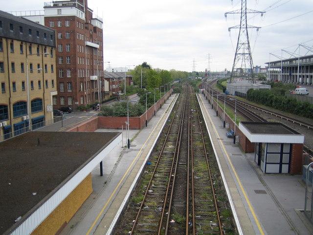 Custom House railway station