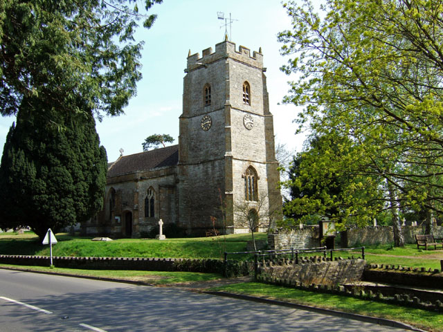 Church of the Blessed Virgin Mary - Marston Magna