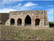 NU1341 : Lime kilns by Lisa Jarvis