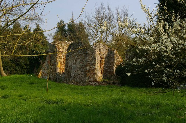 Ruins of St Mary's Virley