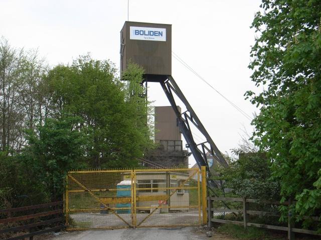 Hoist at Tara Mines