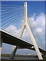 SJ2870 : Flintshire Bridge across the River Dee by John S Turner