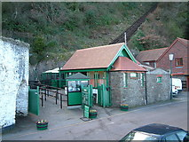 SS7249 : Cliff Railway - Lynmouth by Robin Lucas