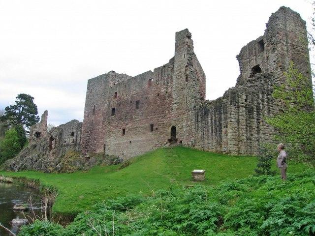 Hailes Castle, nr East Linton